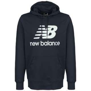 NEW BALANCE Essentials Stacked Logo Hoodie Herren dunkelblau