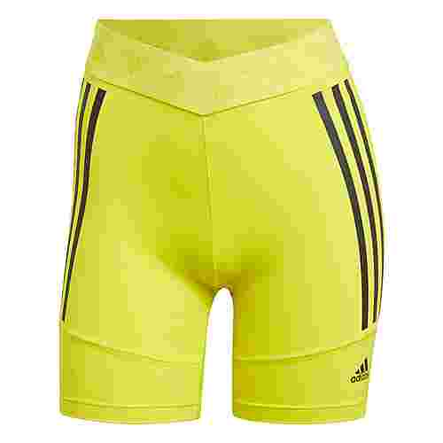 adidas Speed Creation Shorts Funktionsshorts Damen Acid Yellow / Black