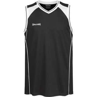 Spalding Crossover Basketball Shirt Herren schwarz / weiß