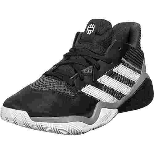 adidas Harden Stepback Basketballschuhe Kinder schwarz