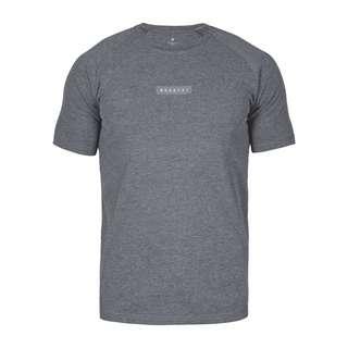 MOROTAI Jersey Stretch Tee T-Shirt Herren Grau Melange