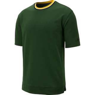 Nike Hoop Fly Funktionsshirt Herren dunkelgrün / gelb