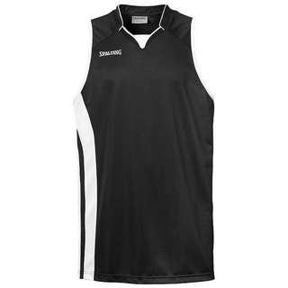 Spalding MVP Basketball Shirt Herren schwarz / weiß