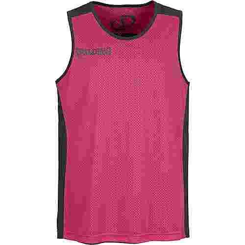 Spalding Essential Reversible Tanktop Herren schwarz / pink