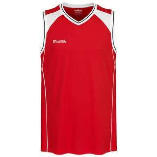 Spalding Crossover Tanktop Herren rot / weiß