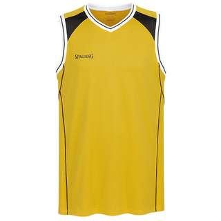 Spalding Crossover Tanktop Herren gelb / schwarz