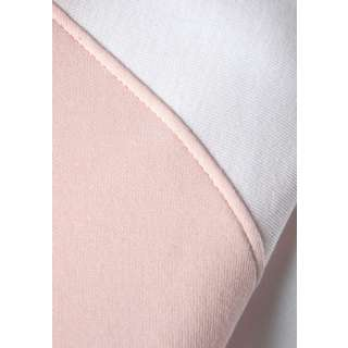 Bench Sweatjacke Damen weiß-rosa