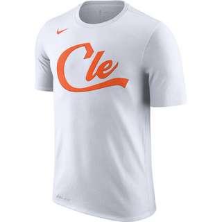 Nike Cleveland Cavaliers Fanshirt Herren weiß / orange