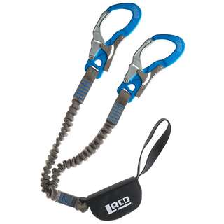 LACD Set Ultimate Ferrata Klettersteigset grau-blau