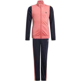 adidas G TR TS Trainingsanzug Kinder top:hazy rose/legend ink bottom:legend ink f17/hazy rose s21