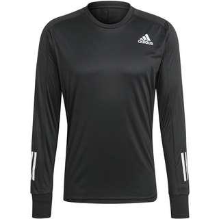 adidas Own the Run Response Aeroready Funktionsshirt Herren black-black
