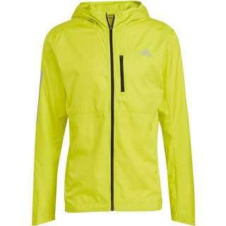 adidas Own the Run Response Laufjacke Herren acid yellow