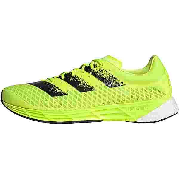adidas ADIZERO PRO Laufschuhe solar yellow-core black-ftwr white