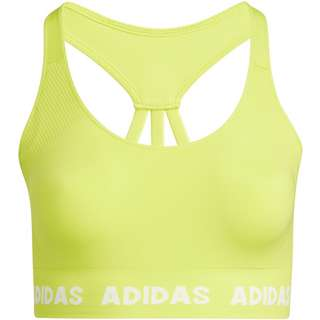 adidas Plus Size BH Damen acid yellow