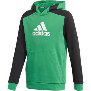 adidas FUTURE ICONS Hoodie Kinder core green-black-white
