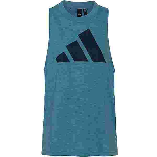 adidas Winners 2.0 SPORT MUST HAVES ENHANCED Tanktop Damen hazy blue mel