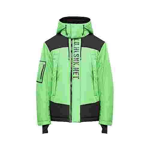 Finn Flare Winterjacke Herren neon green