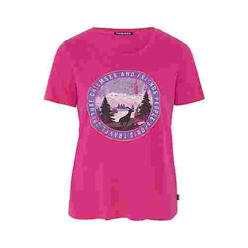 Chiemsee T-Shirt T-Shirt Damen Beetroot