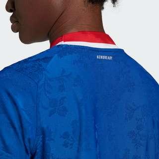 adidas Frankreich Handballtrikot Funktionsshirt Damen Royal Blue / Team Collegiate Red