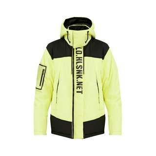 Finn Flare Winterjacke Herren neon yellow