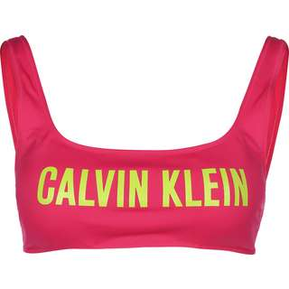 Calvin Klein Bralette Bikini Oberteil Damen pink
