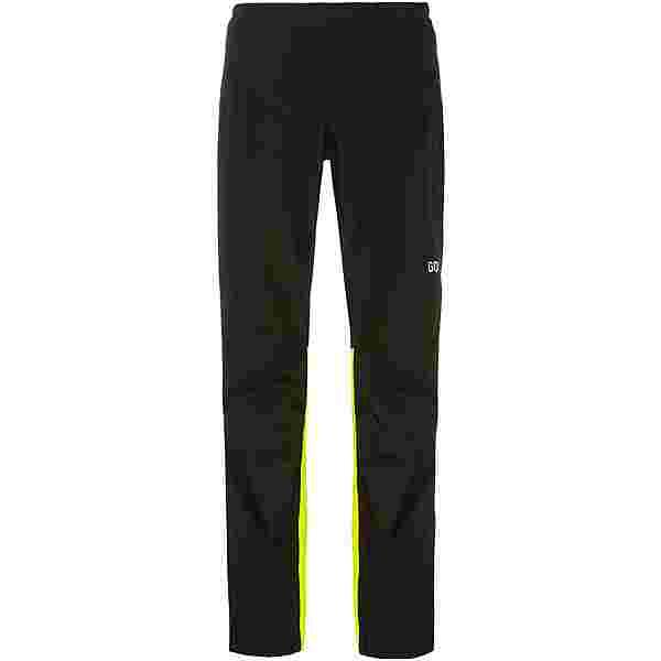 GORE® WEAR GORE-TEX GTX Paclite Hose Fahrradhose Herren black-neon yellow