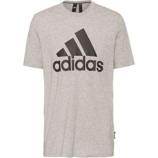 adidas Bade of Sport Essentials T-Shirt Herren medium grey heather