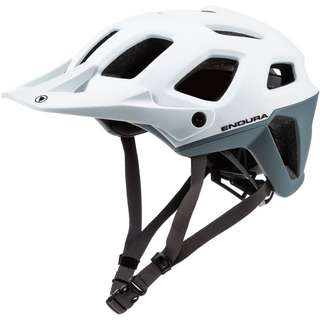 Endura SingleTrack Helm Fahrradhelm weiß