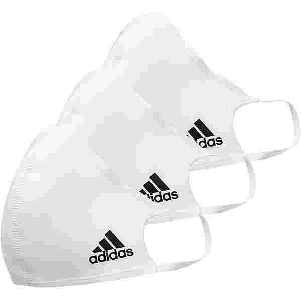 adidas Gesichtsmaske white
