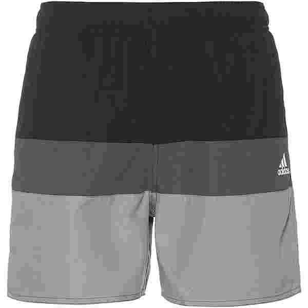 adidas Block Classics Badeshorts Herren black-grethr