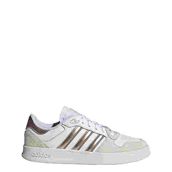adidas Breaknet Plus Schuh Sneaker Damen Cloud White / Champagne Met. / Grey Three