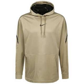 Nike Pro Fleece 2.0 Hoodie Herren beige / schwarz