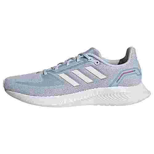 adidas Run Falcon 2.0 Laufschuh Laufschuhe Damen Halo Blue / Cloud White / Dash Grey