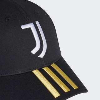 adidas Juventus Turin Baseball Kappe Cap Herren Black / White / Pyrite