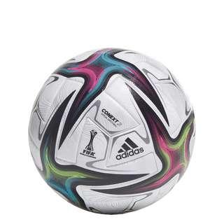 adidas Conext 21 Pro Ball Fußball Herren White / Black / Shock Pink / Signal Green