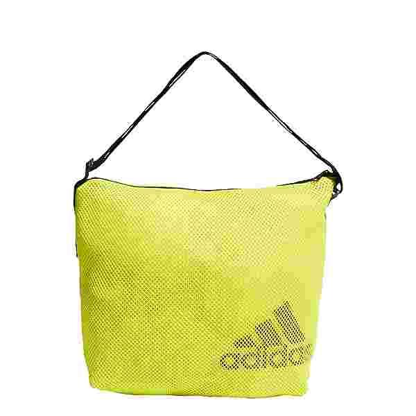 adidas Mesh Caryall Tragetasche Sporttasche Damen Acid Yellow / Black