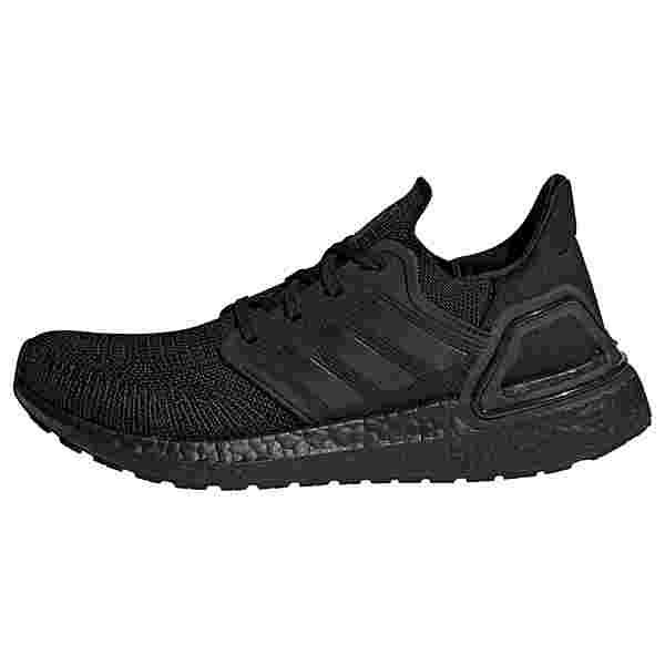 adidas Ultraboost 20 Laufschuh Laufschuhe Damen Core Black / Core Black / Solar Red