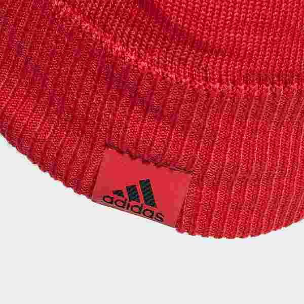 adidas Belgien Mütze Beanie Herren Glory Red / Black