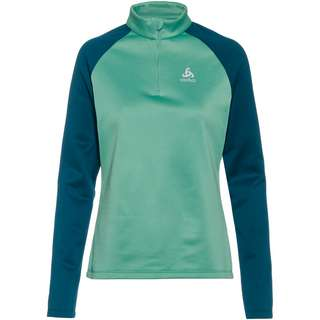 Odlo PLANCHES Funktionsshirt Damen submerged malachite green