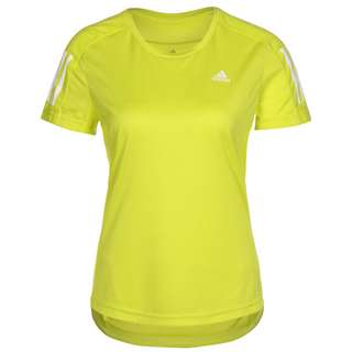 adidas OWN THE RUN RESPONSE AEROREADY Funktionsshirt Damen acid yellow