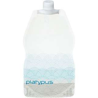 Platypus SoftBottle, 1L w/ Closure Cap Trinkflasche weiß