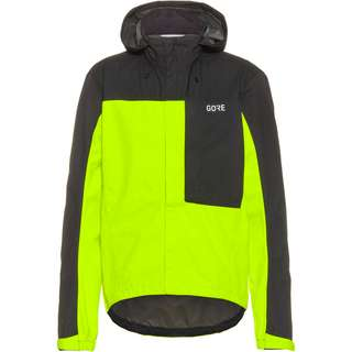 GORE® WEAR GORE-TEX C3 GTX Paclite Hooded Jacket Fahrradjacke Herren neon yellow-black