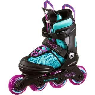 K2 MARLEE PRO Inline-Skates Kinder light blue-purple