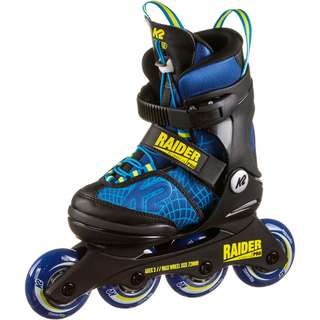 K2 RAIDER PRO Inline-Skates Kinder blue yellow