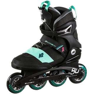 K2 ALEXIS 80 PRO black Inline-Skates Damen black teal