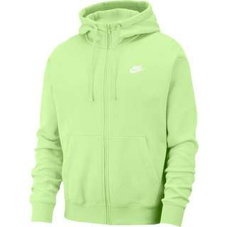 Nike NSW Club Sweatjacke Herren lt liquid lime-lt liquid lime-white
