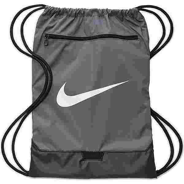 Nike Brasilia Turnbeutel flint grey-flint grey-white