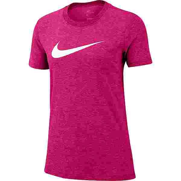 Nike DRI-FIT Funktionsshirt Damen fireberry-champagne