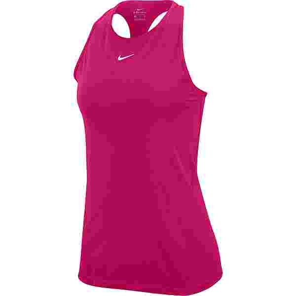 Nike PRO All OVER MESH Funktionstank Damen fireberry-white