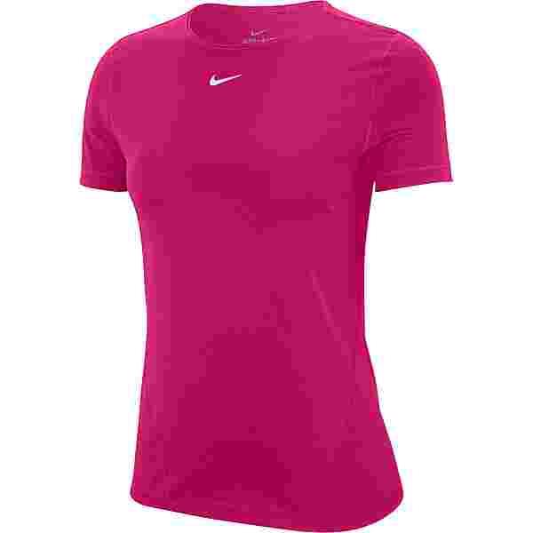 Nike PRO ESSENTIAL Funktionsshirt Damen fireberry-white